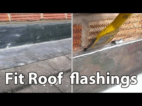 How To Install Lead Roof Flashings Easy Fit Flashing Diy