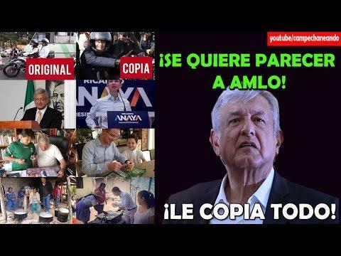 ¡Descaro Total! Ricardo Anaya se Copia de López Obrador - Campechaneando