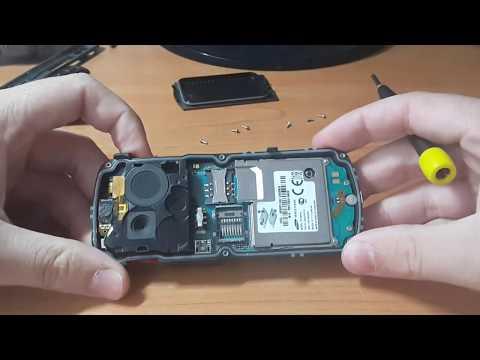 Как разобрать Samsung b2710 xcover