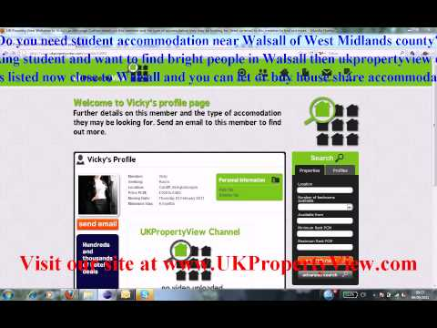 Student Accommodation Walsall | Freshers University Week West Midlands