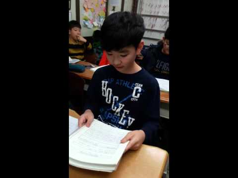20160226 Henry in Courtney's class