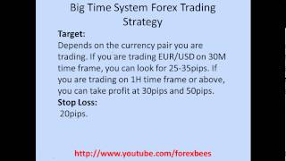 Big Time System Forex Trading Strategy