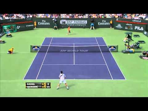 Novak Djokovic psuje pricljivog gledaoca (Indian Wells 2011)