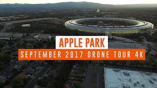 APPLE PARK: Late September Sunset Tour 4K