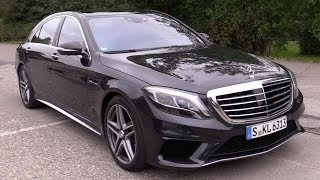 2014 Mercedes-Benz S 63 AMG in Aktion