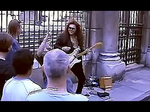 Yngwie J. Malmsteen Playing On The Street