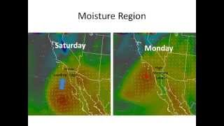 Moisture for Thunderstorms from Tropical Cyclone Possible in Southern California - NWS San Diego
