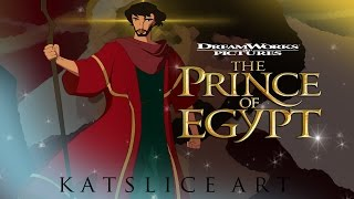 Drawing DreamWorks Pictures The Prince of Egypt