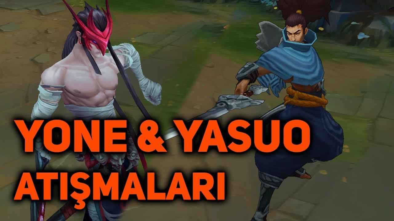 YONE & YASUO'NUN KARŞILIKLI ATIŞMALARI | + Yasuo'nun Yeni Replikleri