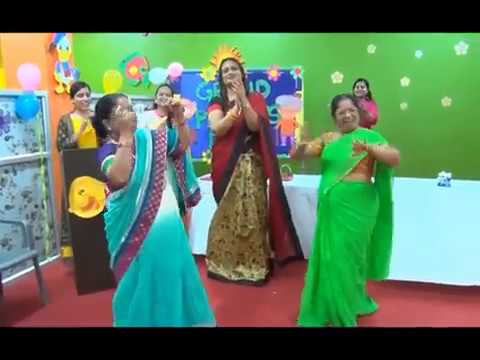 grand parents day celebration in school