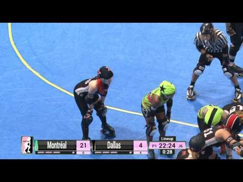 Game 6: Montréal Roller Derby v Dallas Derby Devils
