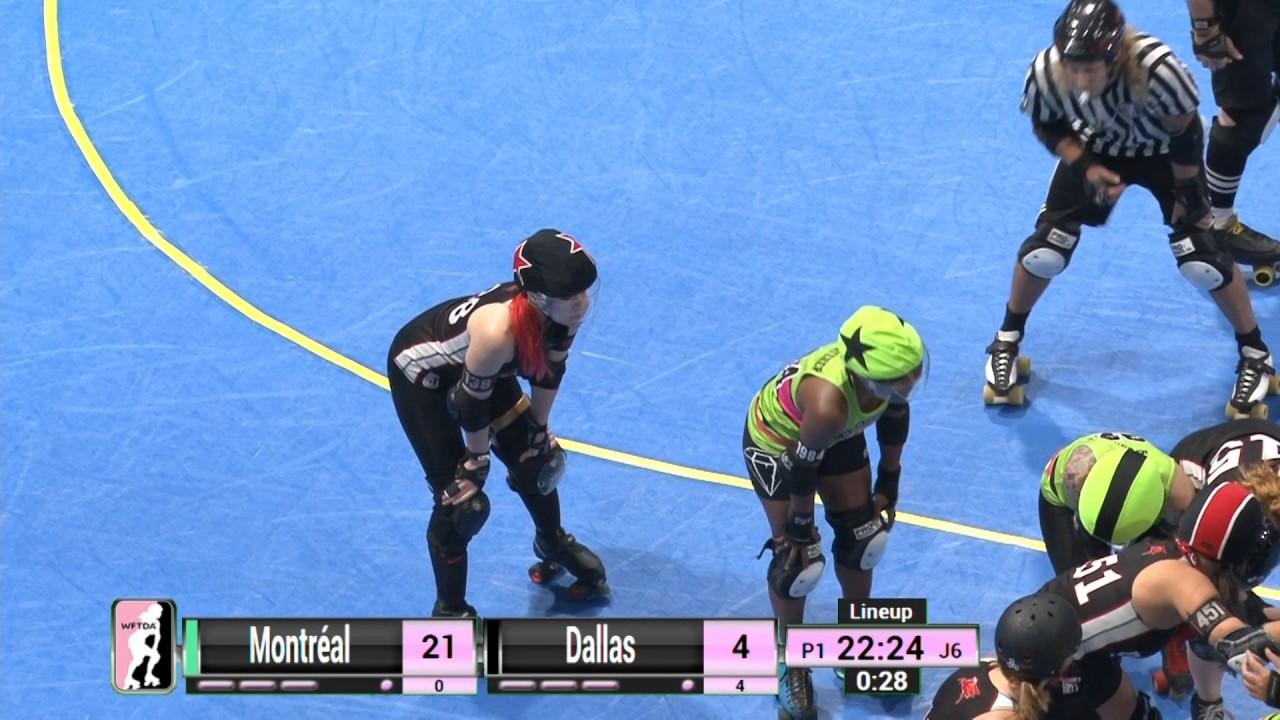 Roller skating montreal - Game 6 Montr Al Roller Derby V Dallas Derby Devils