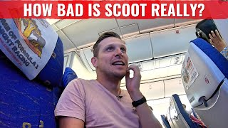 Review: FLY SCOOT 787 - THE WORLD's WORST DREAMLINER?