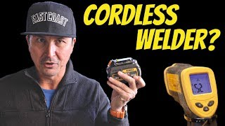 TESTING World's First Cordless Miller Welder?