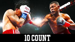 Daniel Jacobs wins against Luis Arias on HBO - 10 Count