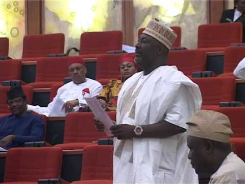 8th June 2016,  Senator Hon   Dino  Melaye  Kogi West   contributes 0n  the Debate ;   A Bill for an