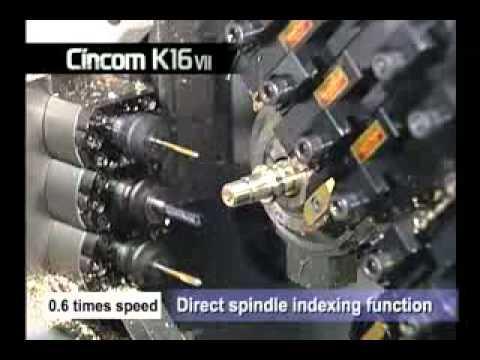 Citizen K16 - General Demo  MachineTools.TV