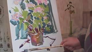 Уникальная техника живописи маслом. Презентация урока