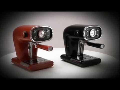 New Cafe Retro Espresso Machine - YouTube