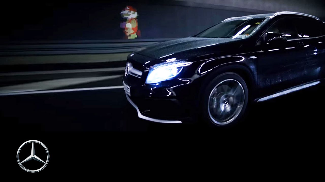 Super Mario дополнили возможностью проехаться на Mercedes-Benz GLA