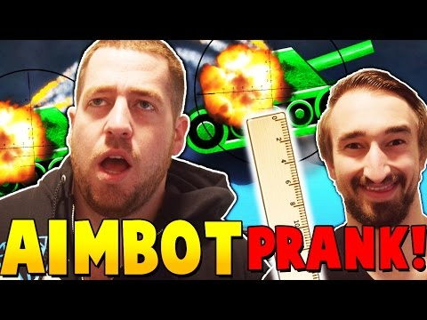 JEROME IS A CHEATER!!! - Shellshock Live Ruler Prank w/ JeromeACE