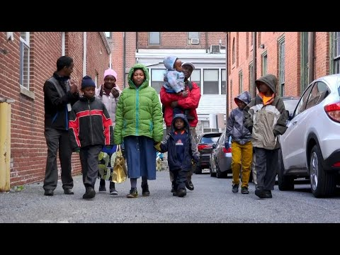 Congolese refugees start a new life in the United States