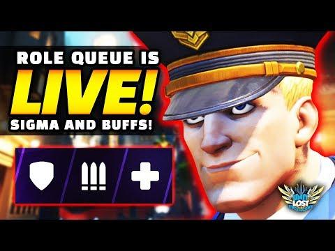 Overwatch Role Queue Is LIVE - Brigitte REWORK! - Ultimate NERFS! + Sigma Playable!