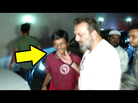 Sanjay Dutt's Sweetest Gesture For A FAN Who Was Waiting To Meet Him