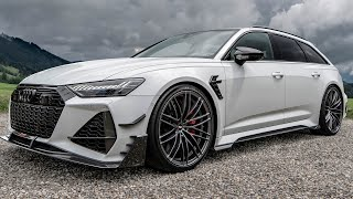 BEAST! 2021 AUDI RS6-R AVANT ABT - 740HP GROCERY GETTER & SUPERCAR DESTROYER - In detail