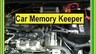 Car Memory Keeper,  How to change car batteries without losing Radio memory.