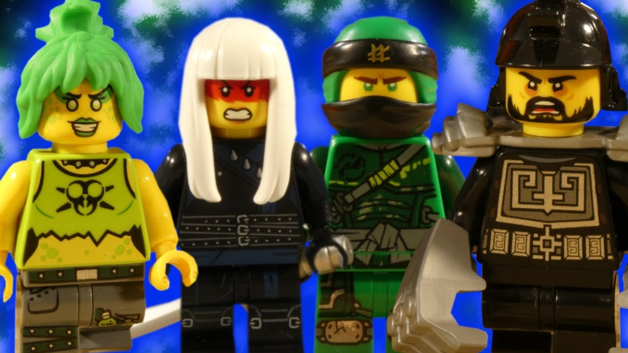 LEGO NINJAGO HUNTED PART 1 - TRAILER 2 - THE HUNT BEGINS