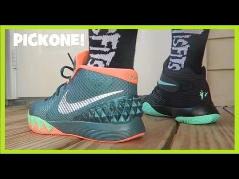 online store b15a0 5339a Nike Kyrie 1 VS 2 Sneakers  PickOne - YouTube