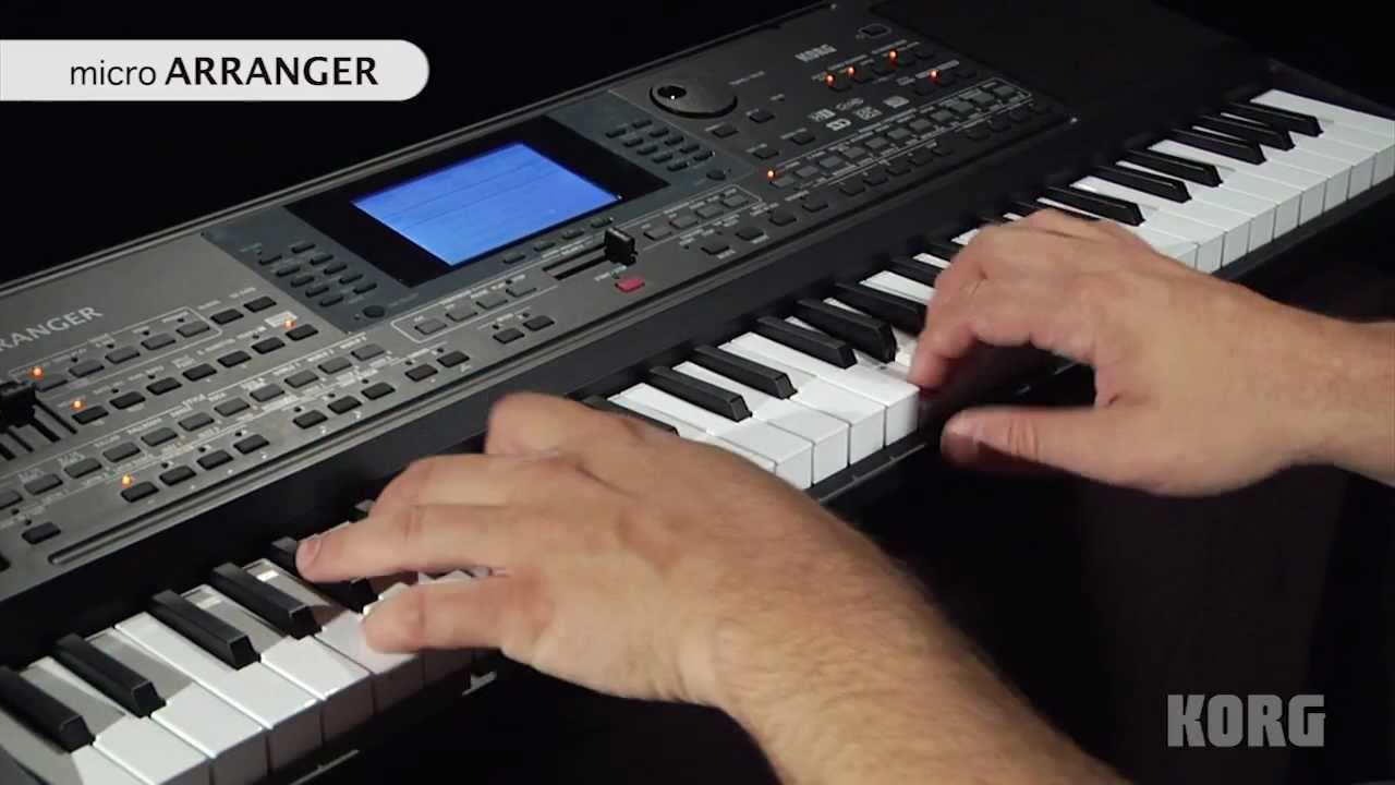 korg microarranger official product introduction youtube rh youtube com korg microarranger review korg micro arranger manual pdf
