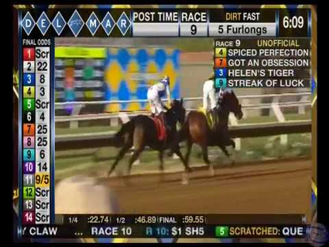 Spiced Perfection Wins MSW on Opening Day at Del Mar!   Dare