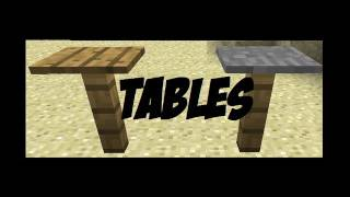 How to make Tables in Minecraft! [Minecraft Furniture Episode 1]