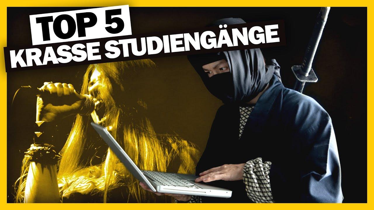 Top 5: Ninja STUDIEREN!? Krasseste Studiengänge der WELT! 🌍