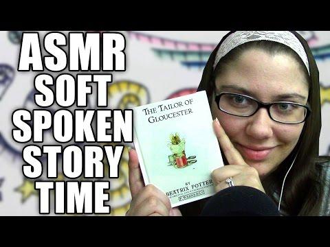 ASMR Soft Spoken Story, Telling a Bedtime Story, Reading the Tailor of Gloucester by Beatrix Potter