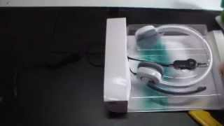 Unboxing Headset Logitech h150 | Android Evolution