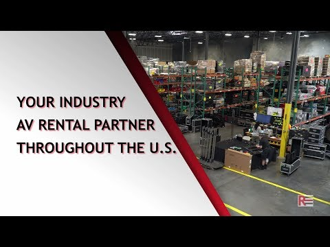 Rentex - Your Industry AV Rental Partner