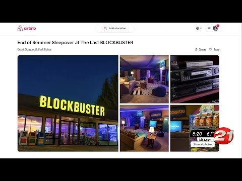 You Can Soon Reserve A Sleepover At The World S Last Blockbuster In Bend Ktvz