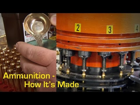 How Ammo Is Made - Go Inside Remington's Ammunition Plant