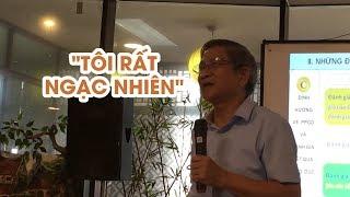GS Nguyễn Minh Thuyết ngạc nhiên với ĐBQH vì chuyện sách giáo khoa