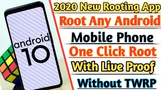 (With Live Proof) 100% Root Any Android || 2020 New Rooting App || How to Root Android Phone ||