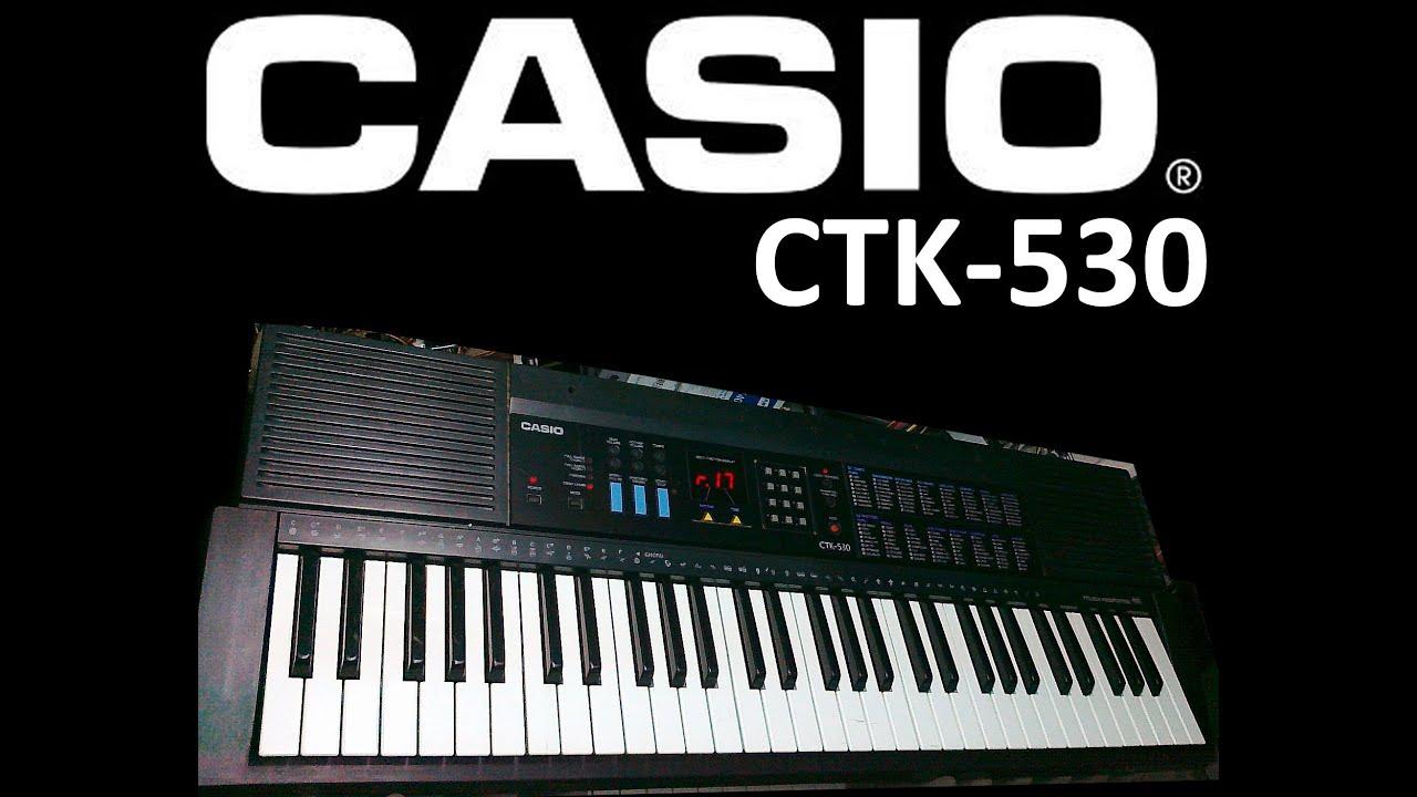 Casio ctk-530 service manual download, schematics, eeprom, repair.