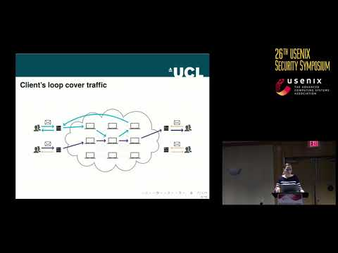 USENIX Security '17 - The Loopix Anonymity System