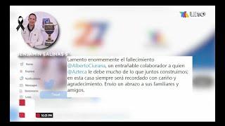 Falleció Alberto Ciurana, Director de Contenido y Distribución de TV Azteca