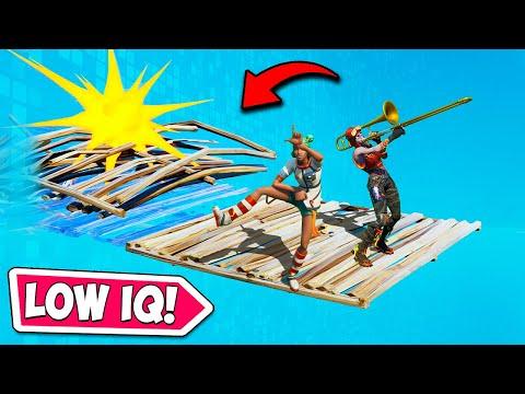 *LOW IQ* DUMBEST DUO SQUAD EVER!! - Fortnite Funny Fails and WTF Moments! #970
