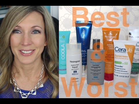 BEST & WORST ~ Testing Mineral Sunscreens for Face