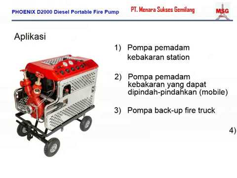 Portable fire pump 500 GPM diesel, portable fire pump 2000