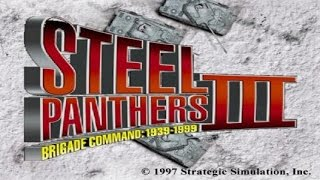 Steel Panthers 3 gameplay (PC Game, 1997)